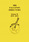(01) IBR FALCONRY DIRECTORY - VOL 1 - VOL 16